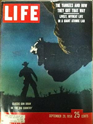 Life Magazine SEPTEMBER 29, 1958: Life Magazine Staff