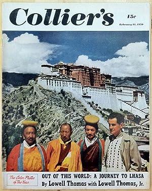 Report on the Barnhouse Effect Collier's February: Vonnegut, Kurt Jr.