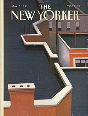 The New Yorker: March 5, 1990: Barnes, Julian; Atwood,