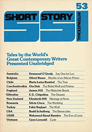 Short Story International 53 Tales by the: Schulberg, Budd; Russo,
