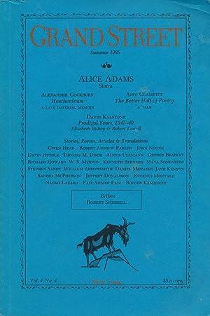 Grand Street Vol. 4, No. 4 Summer: Adams, Alice, Amy
