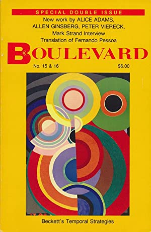 Boulevard Vol. 5 No. 3 & Vol.: Doty, Mark, Alice