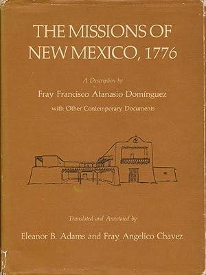 Missions of New Mexico, 1776 A Description: Adams, Eleanor B.
