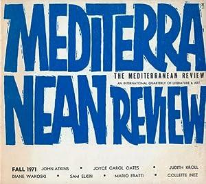 The Mediterranean Review, Volume II, No. 1,: Oates, Joyce Carol;