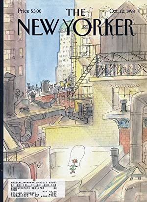 The New Yorker October 12, 1998: Franzen, Jonathan; Buckley