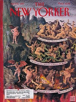 The New Yorker April 21, 1997: Franzen, Jonathan; Ginsberg,