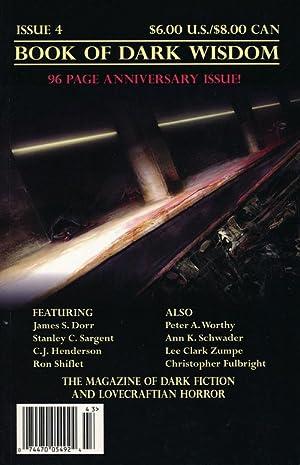 Book of Dark Wisdom--Anniversary Issue, Fall 2004: Jones, William (editor)