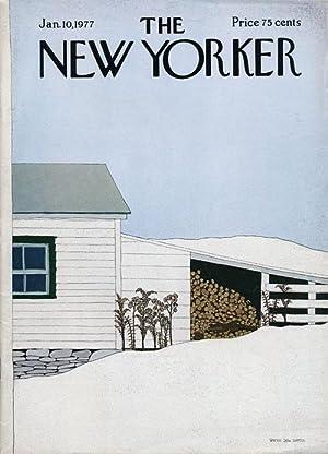 New Yorker, January 10, 1977: Helprin, Mark; Merwin,