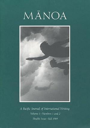 Manoa A Pacific Journal of International Writing: Beattie, Ann; Camoin,