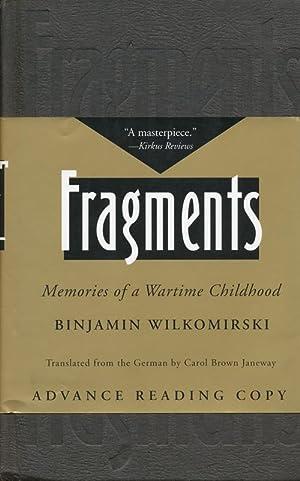 Fragments Memories of a Wartime Childhood: Wilkomirski, Binjamin
