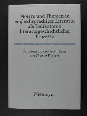 Motive und Themen in englischsprachiger Literatur als: Müllenbrock, Heinz-Joachim and