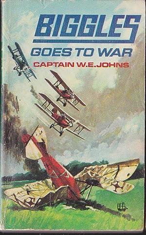 biggles goes to war seller supplied images abebooks