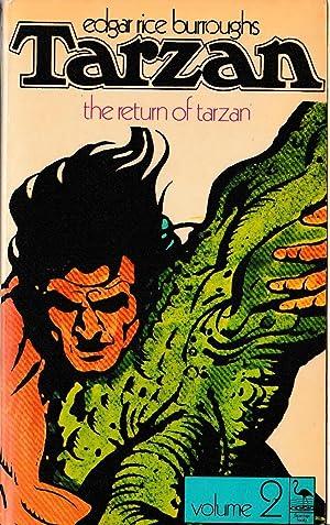 THE RETURN OF TARZAN. Volume 2: Burroughs, Edgar Rice