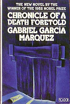 Chronicle Of A Death Foretold Book Cover