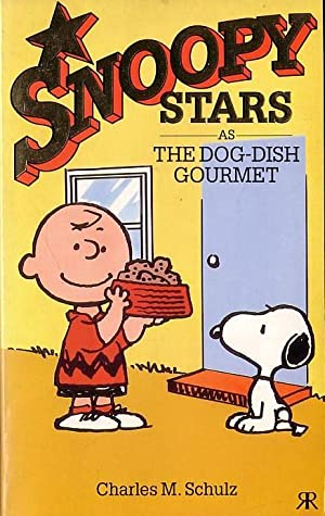 SNOOPY AS THE DOG-DISH GOURMET