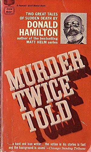 MURDER TWICE TOLD