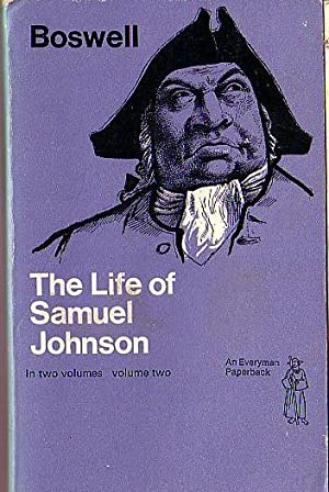 THE LIFE OF SAMUEL JOHNSON. Volume 2.: Boswell, James