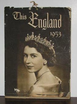 This England 1953 Wall Calendar: Wilkinson Publishing Company
