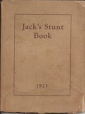 Jack's Stunt Book 1923: Kumler, John M.