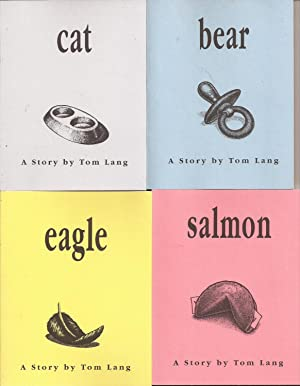 Bear, Cat, Eagle, Salmon (4 signed volumes): Lang, Tom