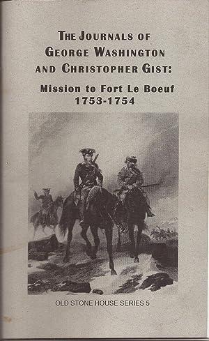 The Journals of George Washington and Christopher: Washington, George &