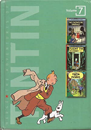 The Adventures of Tintin Volume 7 (The Castafiore Emerald, Flight 714 to Sydney, Tintin and the P...