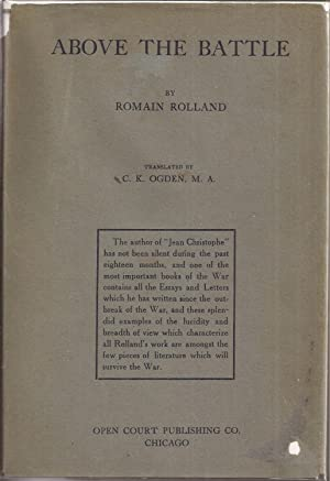 Above the Battle: Rolland, Romain translated
