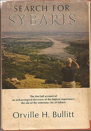 Search for Sybaris: Bullitt, Orville H.