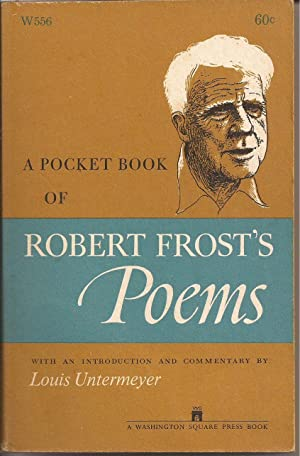 A Pocket Book of Robert Frost's Poems: Frost, Robert w/intro.