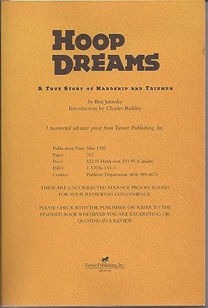 Hoop Dreams: A True Story of Hardship: Joravsky, Ben w/intro.