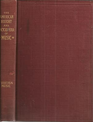 History of Foreign Music: Hubbard, W. L.,