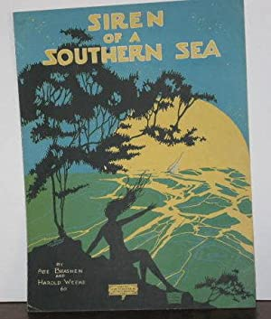 Siren of a Southern Sea (sheet music)