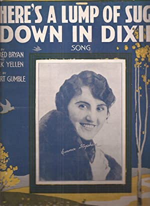 There's a Lump of Sugar Down in Dixie (sheet music)