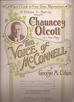 When I Look in Your Eyes, Mavourneen from The Voice of McConnell (sheet music)