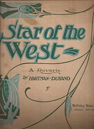 Star of the West: A Reverie (sheet music)