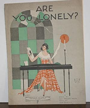 Are You Lonely? (sheet music)