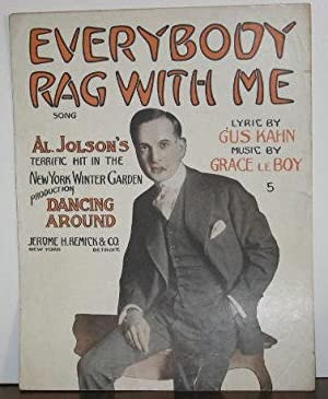 Everybody Rag with Me: Songs (sheet music)
