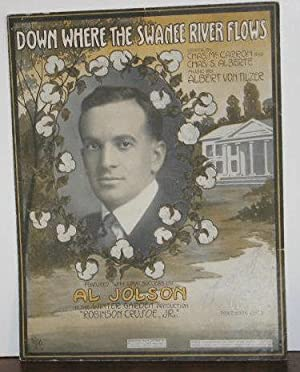 Down Where the Swanee River Flows (sheet music)
