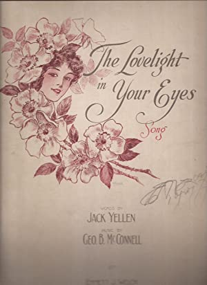 The Lovelight in Your Eyes (sheet music)