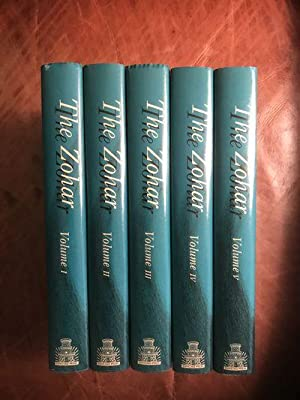 The Zohar The Soncino Press Five Volume Hardcover Set