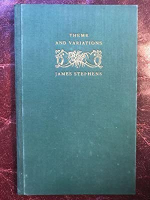 Theme and Variations Hand Numbered Limited Edition Signed By James Stephens
