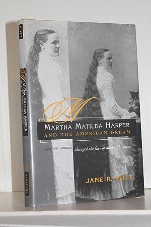 Martha Matilda Harper and the American Dream: Plitt, Jane
