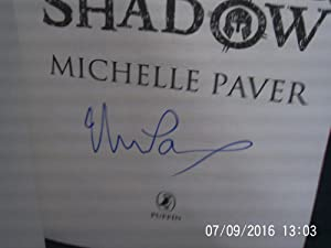 Gods and Warriors: The Burning Shadow * A SIGNED copy *: PAVER Michelle:
