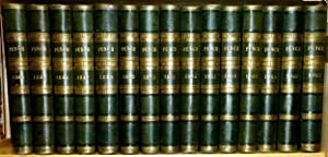 Punch, or The London Charivari. 30 Volumes, 1844 - 1867. (Volumes 6-15, 22-25, 28-35, 42-43, 48-53).