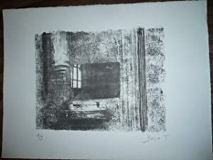 LITHOGRAPHIE ORIGINALE SIGNEE AU CRAYON Jacques BUSSE (1922-2004) NUMEROTEE 2/20