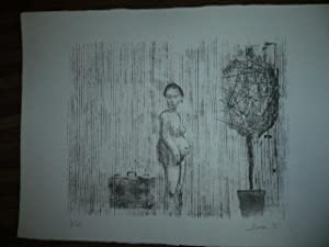 LITHOGRAPHIE ORIGINALE SIGNEE AU CRAYON Jacques BUSSE (1922-2004) NUMEROTEE 4/10