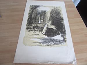 LITHOGRAPHIE NUMEROTEE SIGNEE Jeanne Marguerite FREY-SURBEK (1886-1980)