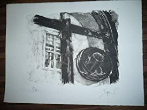 LITHOGRAPHIE ORIGINALE SIGNEE AU CRAYON Jacques BUSSE (1922-2004) NUMEROTEE 7/20