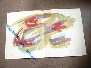James PICHETTE (1920-1996) LITHOGRAPHIE NUMEROTEE ET SIGNEE