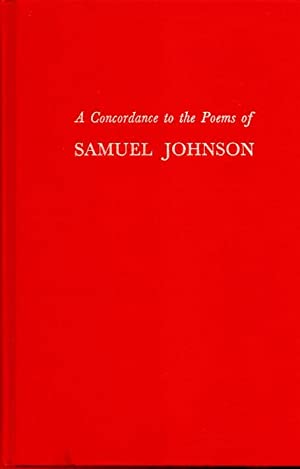 A Concordance to the Poems of Samuel: Naugle, Helen Harrold